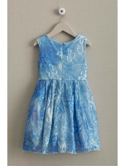 Cinderella® Girls Sequin Dress  blu alt2