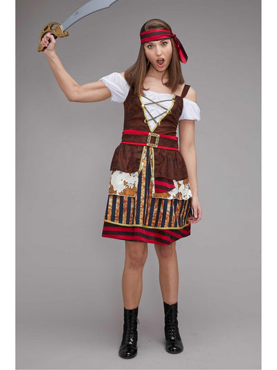 Classic Pirate Costume for Women