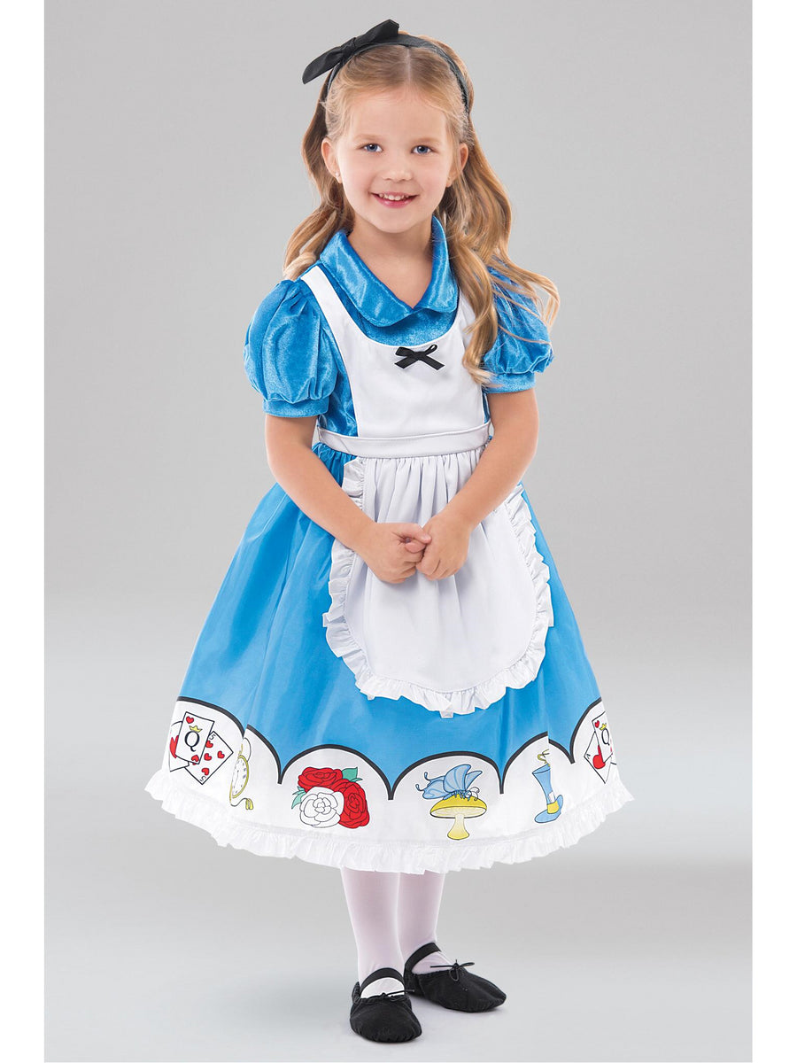 Classic Storybook Alice Costume for Girls
