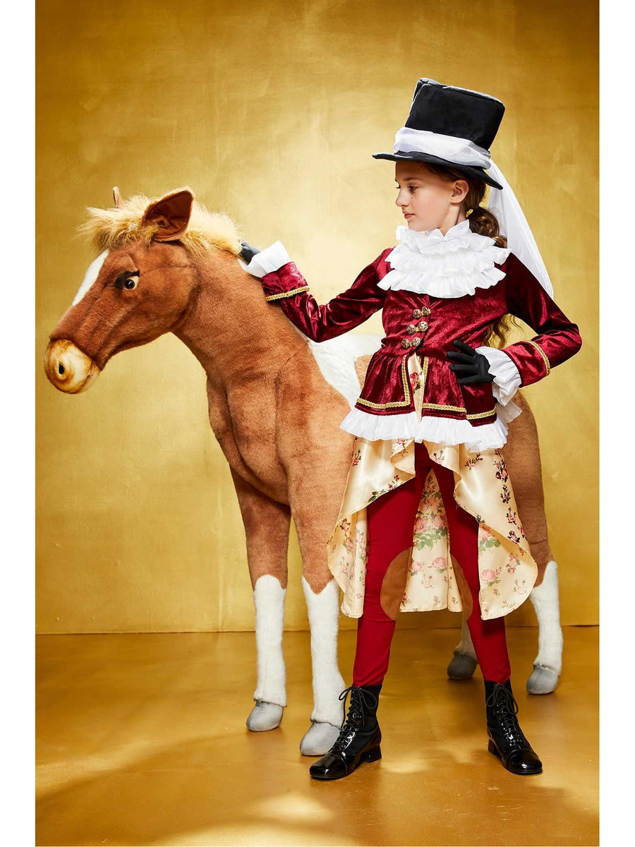 Colonial Equestrienne Costume for Girls
