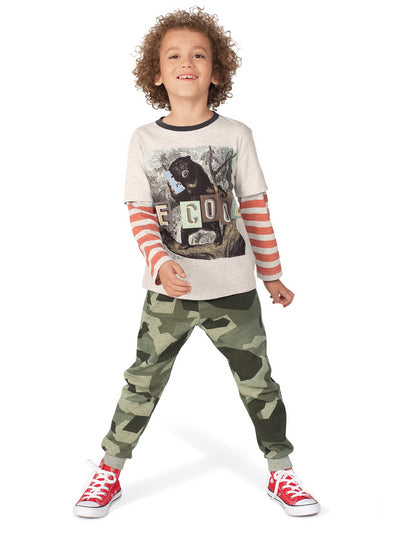 Cool in Camo Joggers  mlt alt1
