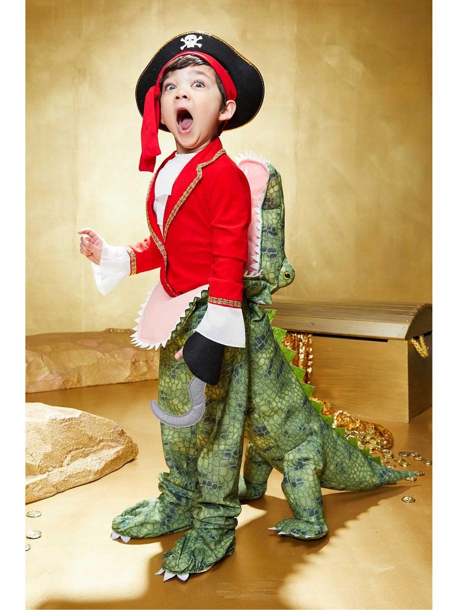 Crocodile Eating Pirate Costume for Kids