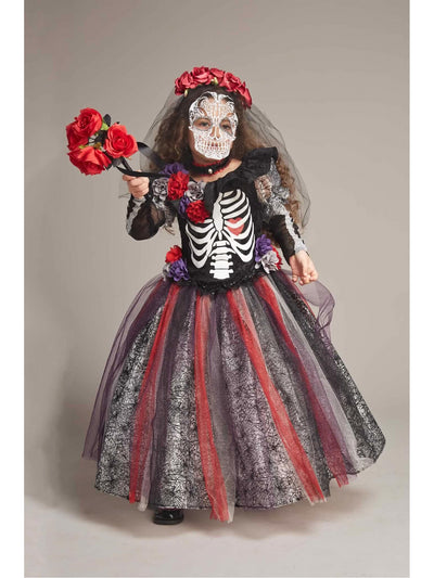 Day Of The Dead Catrina Costume For Girls