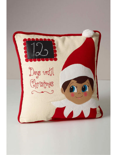 Days Until Christmas Pillow