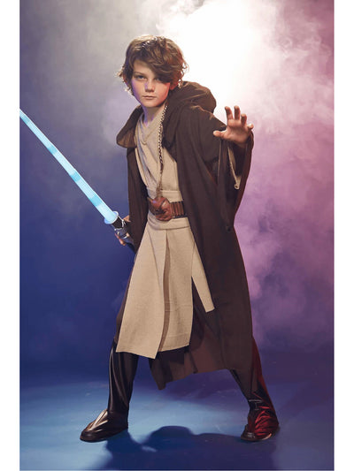 Deluxe Jedi Costume For Kids - Star Wars  bro alt1