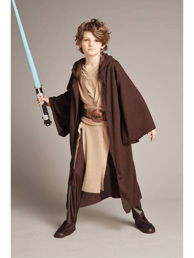 Deluxe Jedi Costume For Kids - Star Wars  bro alt2