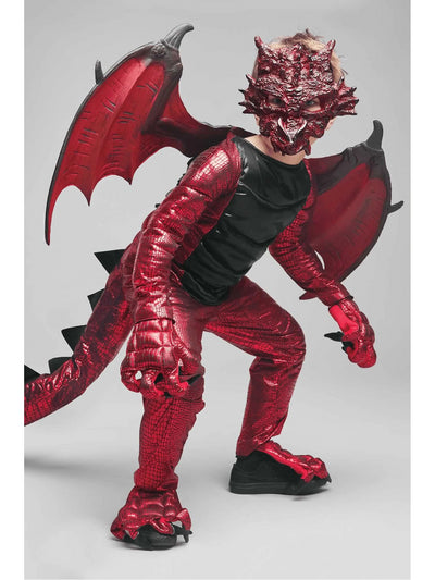Demon Dragon Costume for Boys