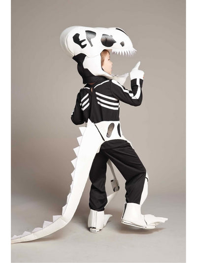 Dinosaur Skeleton Costume For Kids  bla alt1