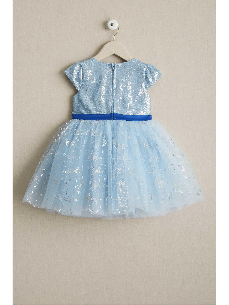Disney Collection by Tutu Couture Cinderella Sequin Tutu Dress