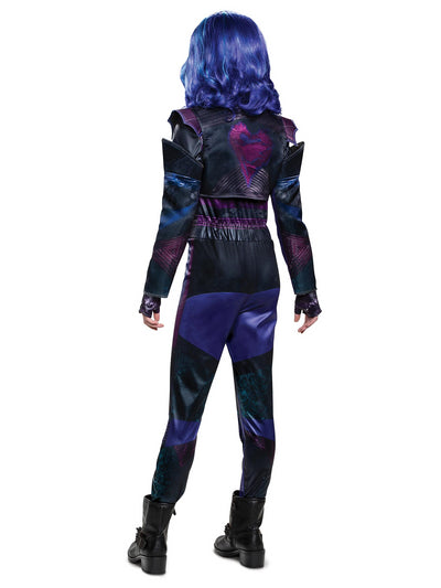 Disney Descendants 3 Mal Deluxe Costume for Girls  blk alt2