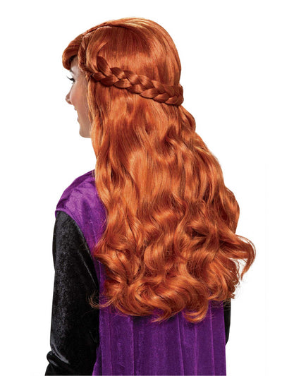 Disney Frozen 2 Anna Wig for Adults  che alt1