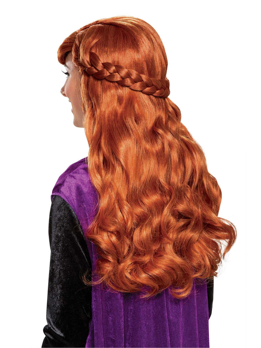 Disney Frozen 2 Anna Wig for Adults
