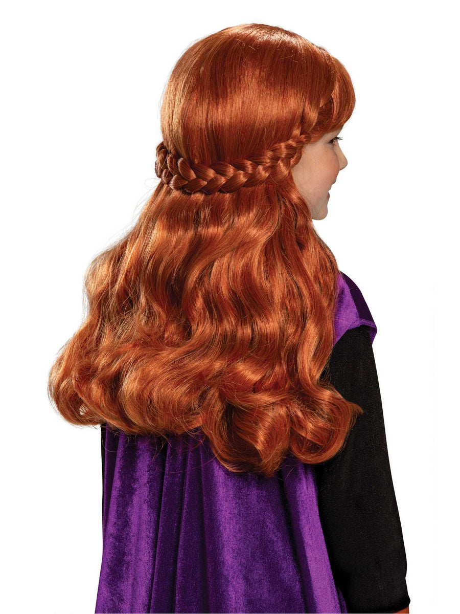 Disney Frozen 2 Anna Wig for Girls