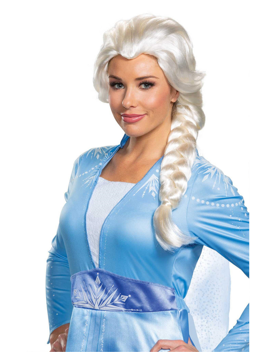 Disney Frozen 2 Elsa Wig for Adults
