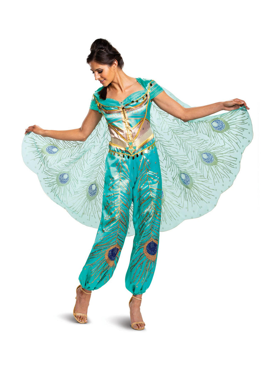 Disney Jasmine Teal Deluxe Costume for Adults