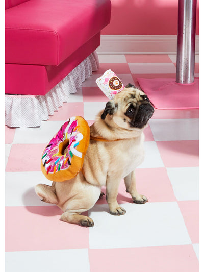 Donut & Coffee Costume for Dogs  pin 1