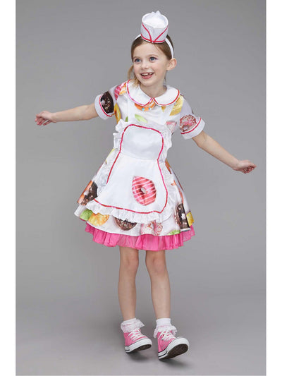 Donut Waitress Costume for Girls