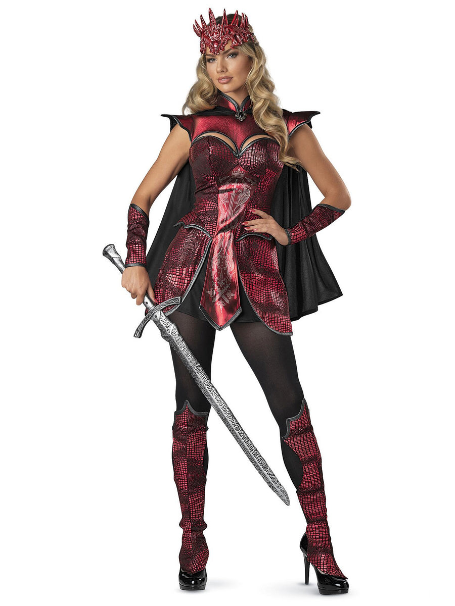 Dragon Warrior Queen Costume for Women