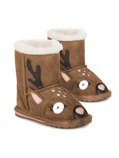 EMU Australia® Big Buck Suede Walkers for Baby