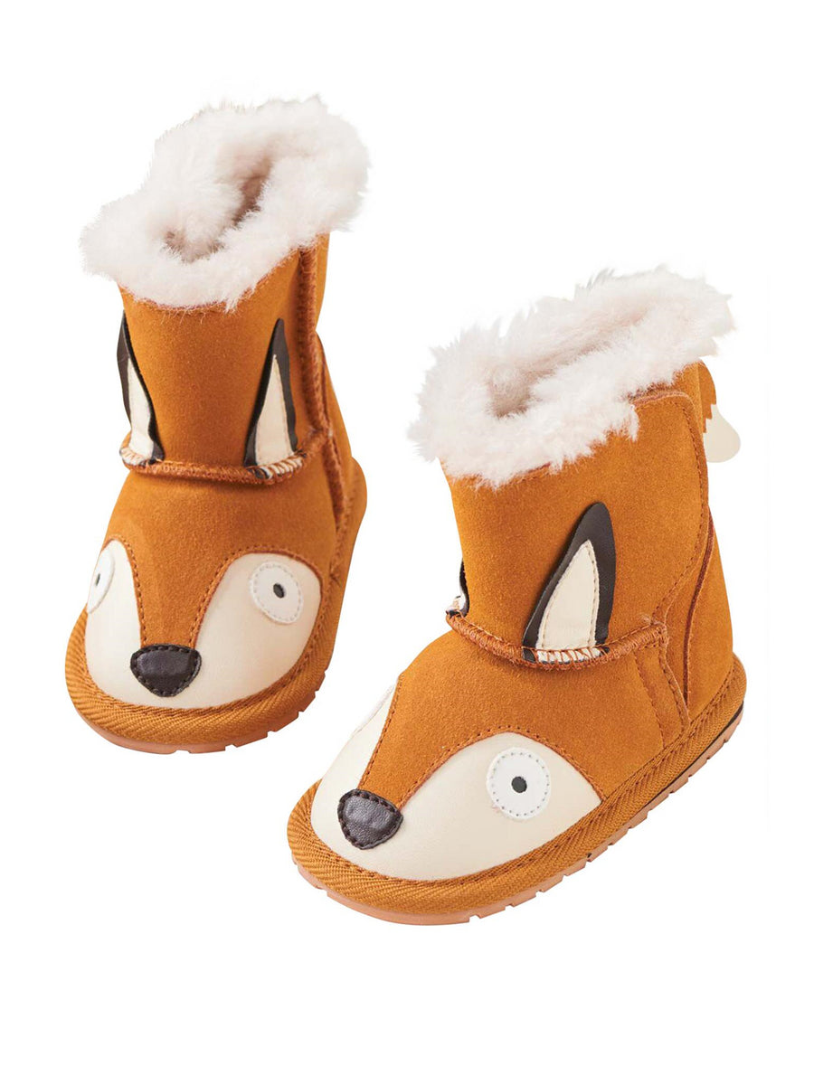 EMU Australia® Little Fox Suede Walkers for Baby