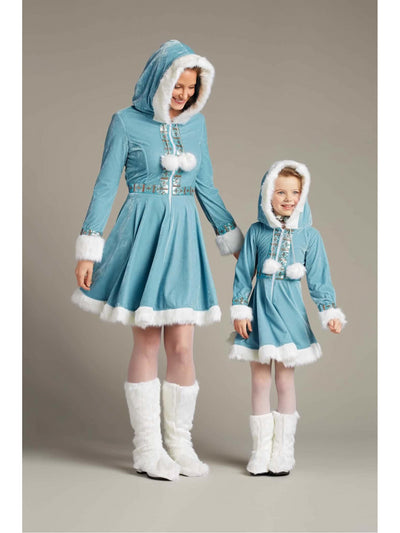 Enchanting Eskimo Costume For Girls  ibl alt1