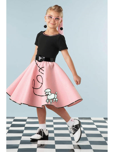 Fab '50s Costume For Girls  pin alt1