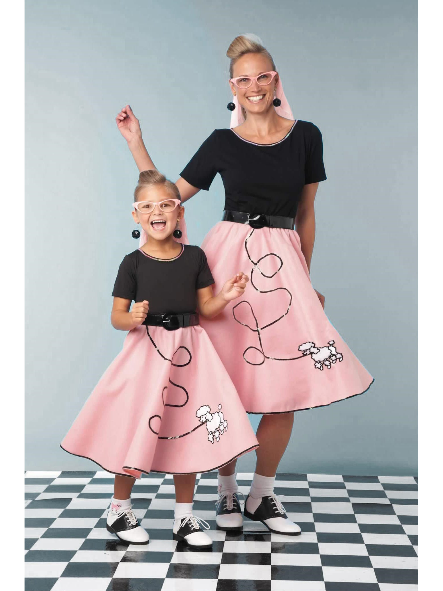 Fab '50s Costume for Girls - Chasing Fireflies