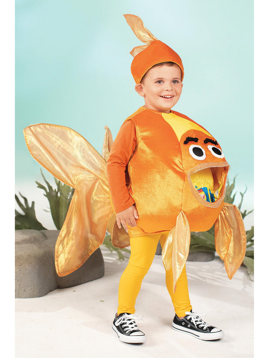 Feed Me Goldfish Costume for Kids