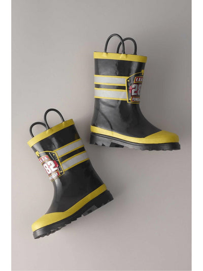 Fire Chief Rainboots for Kids