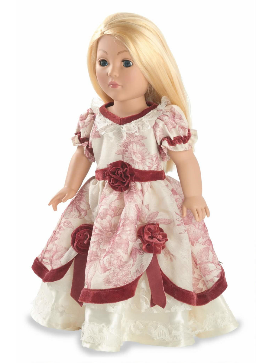 Floral Southern Belle Doll Costume