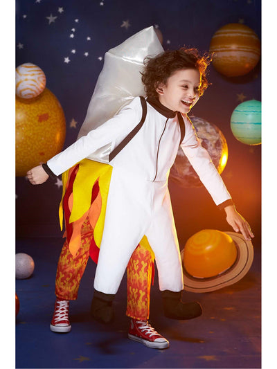 Fly Me to the Moon Costume for Kids  red alt1