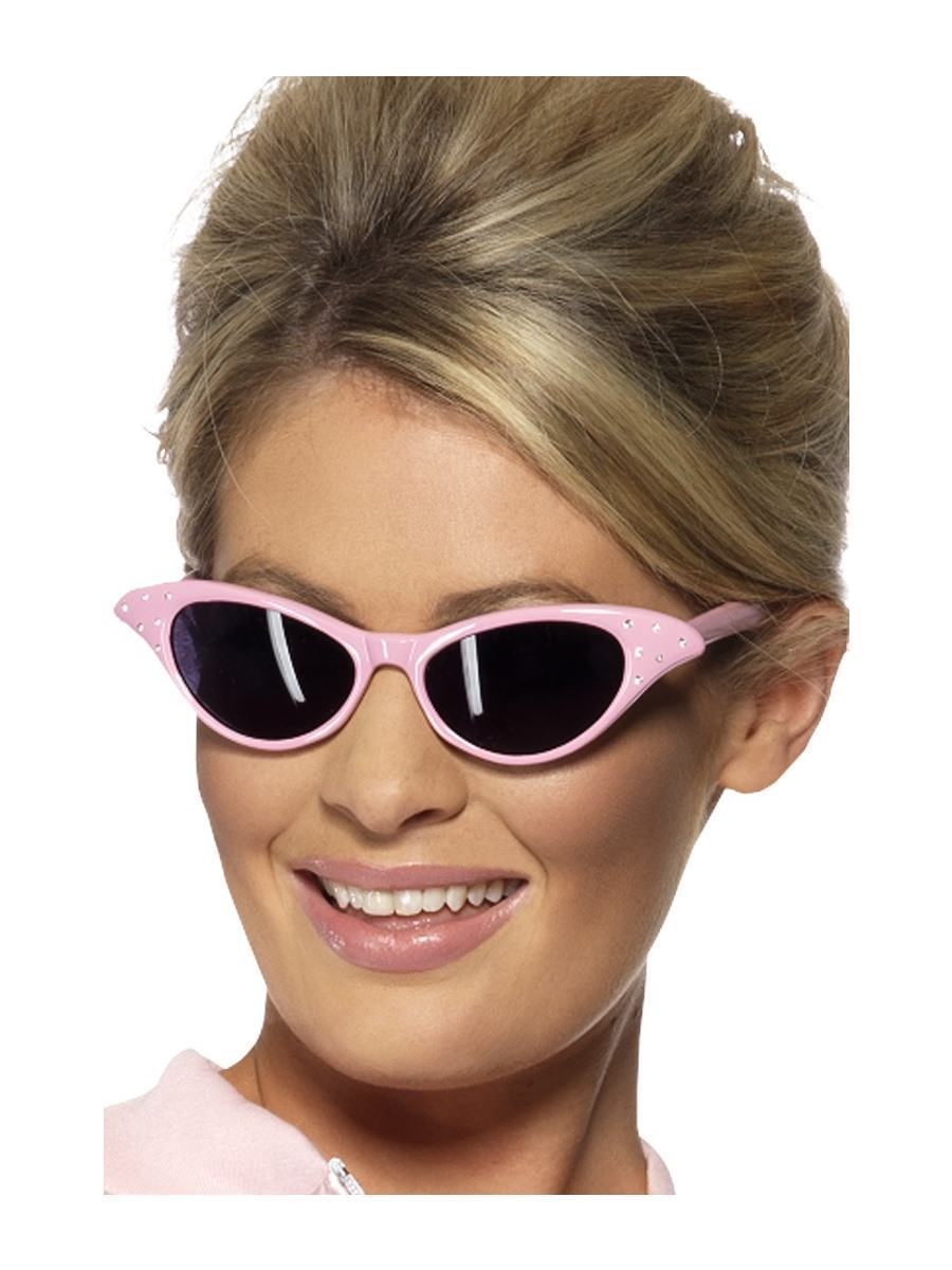 Pink Flyaway Style Rock & Roll Sunglasses