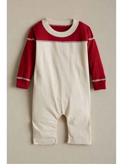 Football Romper  red 1