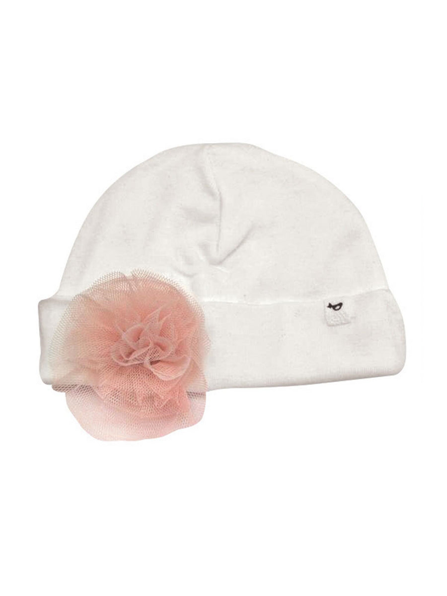 Frilly Flower Hat for Baby