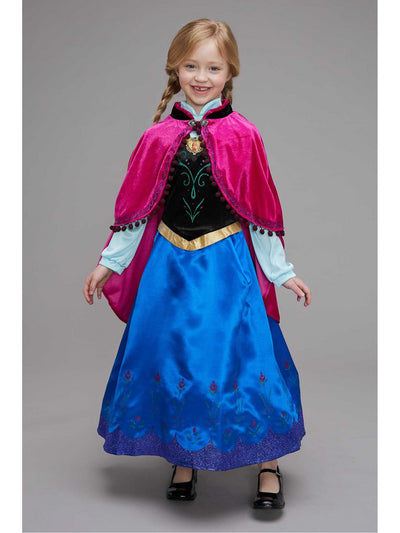 Frozen Traveling Anna Costume for Girls