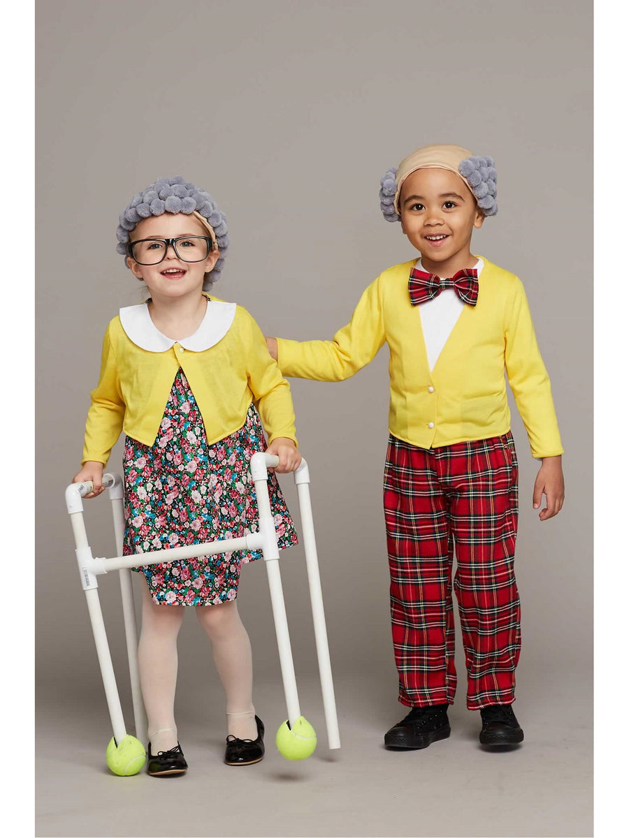 Funny Grandma Costume for Girls