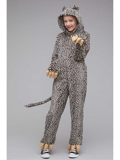 Furry Cheetah Costume for Kids