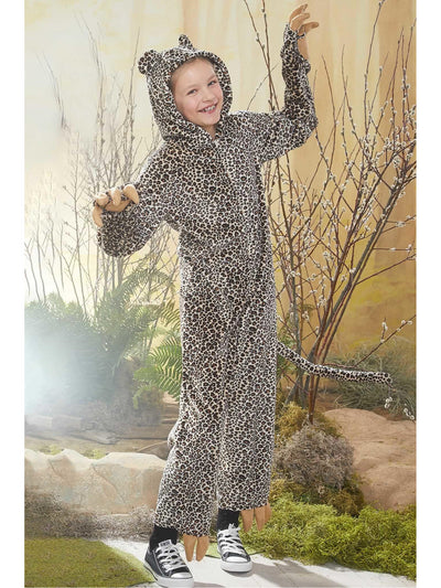 Furry Cheetah Costume for Kids  bro alt1