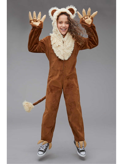 Furry Lion Costume for Kids