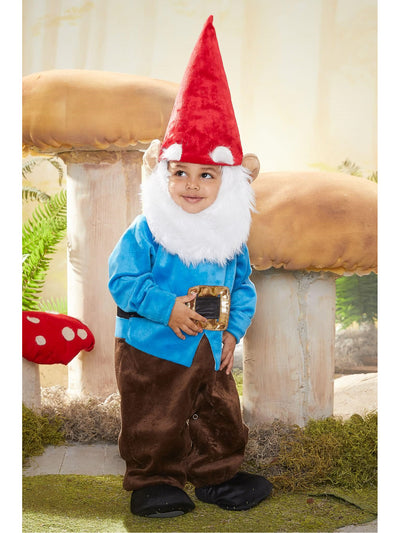 Garden Gnome Costume for Baby  red alt1
