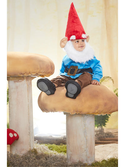 Garden Gnome Costume for Baby  red alt2