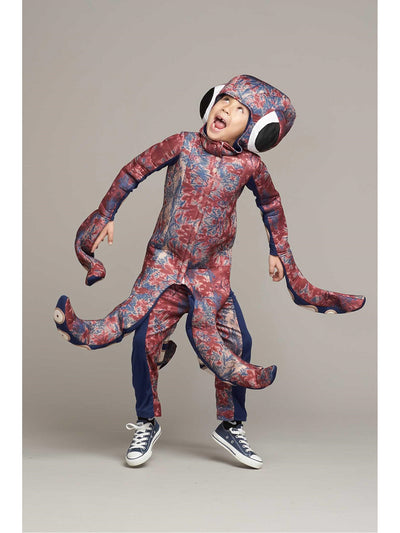 Giant Octopus Costume for Kids  bur 1