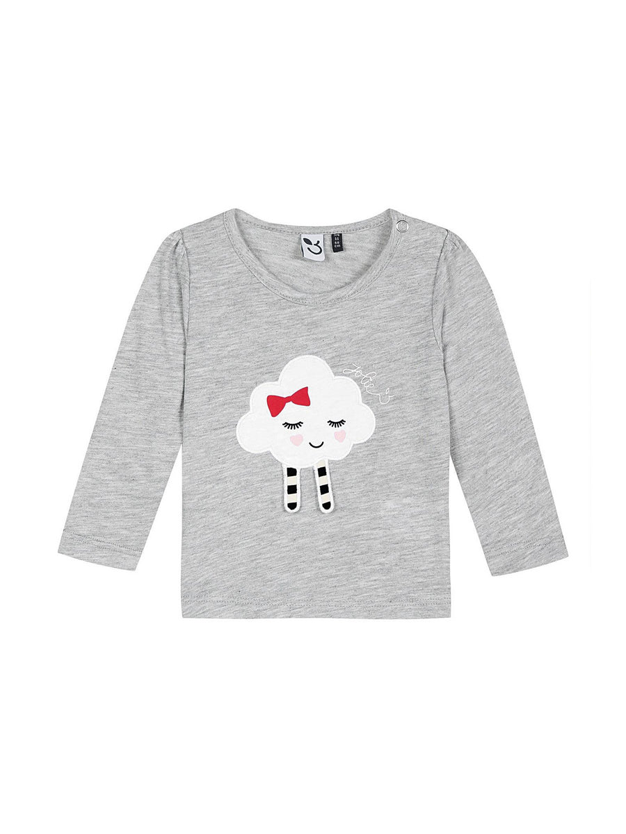 Girls 3D Fluffy Cloud Shirt