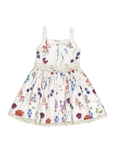 Girls Alison Dress  whi alt1