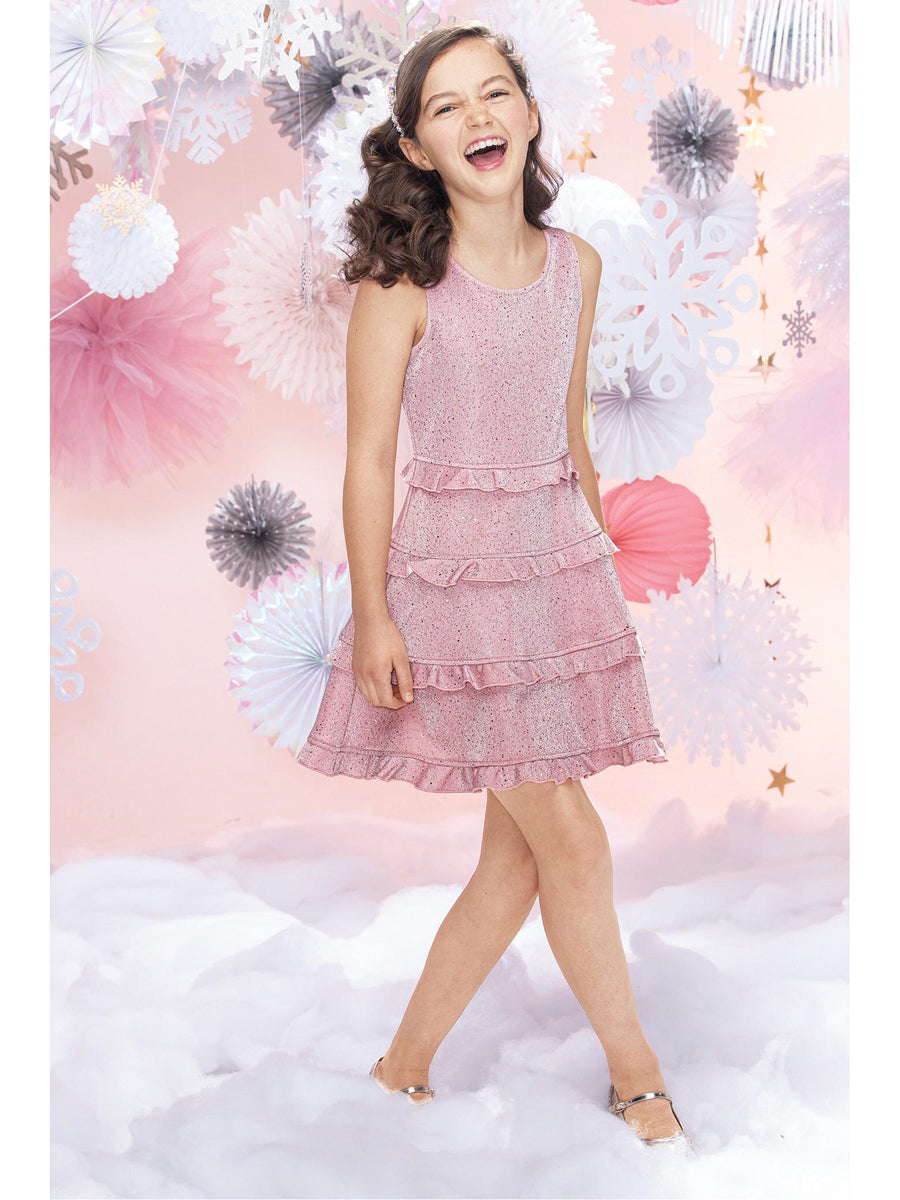 Girls All That Glitters Is Pink Dress