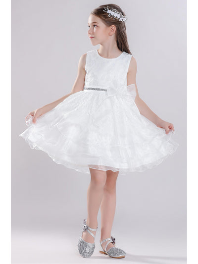 Girls Allover Lace Dress