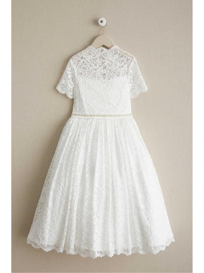 Girls Angel Lace Dress  whi alt1