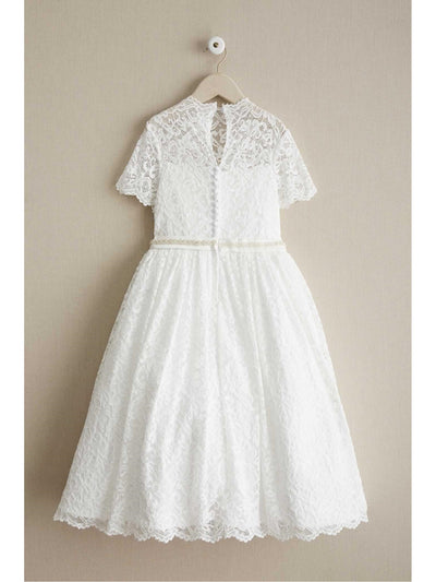Girls Angel Lace Dress  whi alt2