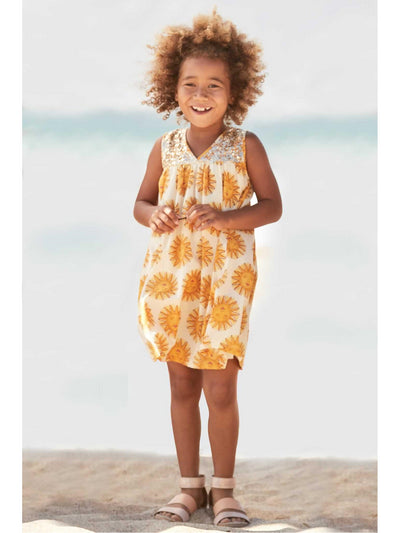 Girls Antique Sunshine Dress