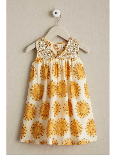 Girls Antique Sunshine Dress  gol alt1
